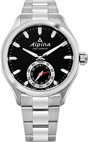 Alpina Reloj de Cuarzo Man Horological Smartwatch 44 mm: Amazon.es: Relojes
