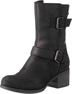 Womens Maypearl Oasis Biker Boots, Black, 6.5 UK Clarks