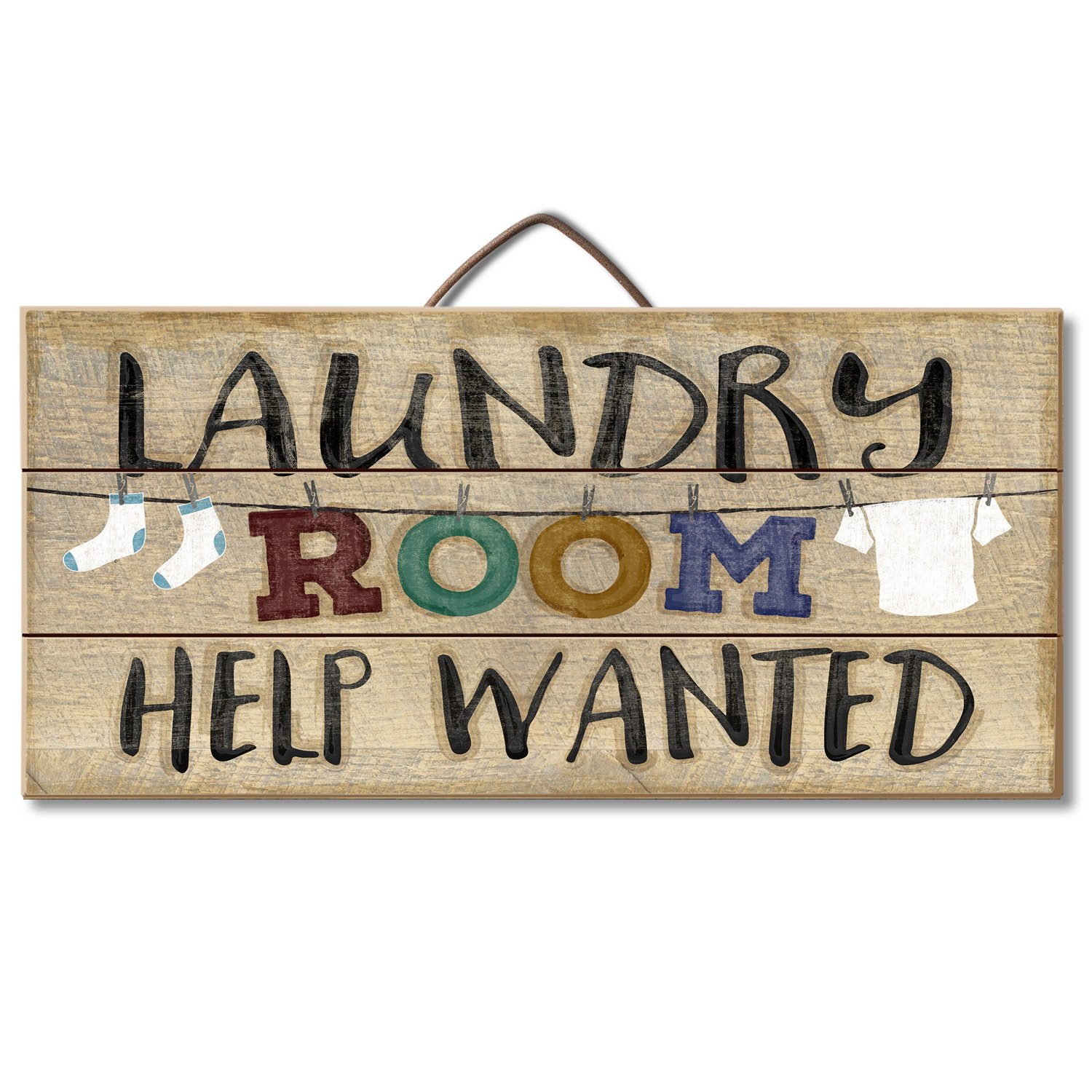 Amazon Laundry Room Help Wanted Reclaimed Wood Pallet Sign