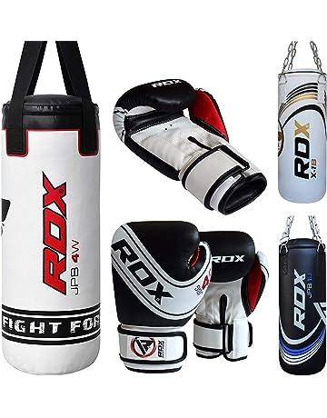 RDX Bambini set Punch Borsa Riempita Boxe Junior Guanti MMA della Gioventù Guanti Da Boxe 2FT