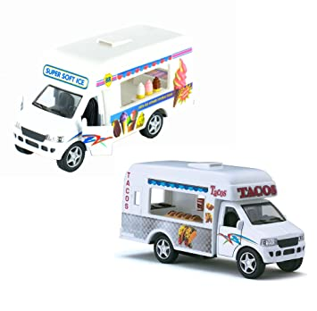 USPS Mail Truck Toywonder (2 Trucks (Ice Cream-Tacos))