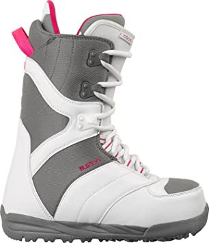 Amazon Com Burton Coco Snowboard Boots White Gray Womens Sz 7