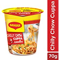 Maggi Cuppa Noodles, Chilly Chow, 70g