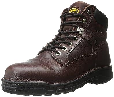 ad0017474d62 Wolverine Exert DuraShocks Steel-Toe EH 6 quot  Opanka Work Boot Men s 7.5  - Brown