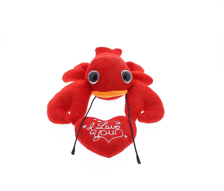 Amazon Com Dollibu Red Lobster Big Eye I Love You Valentines