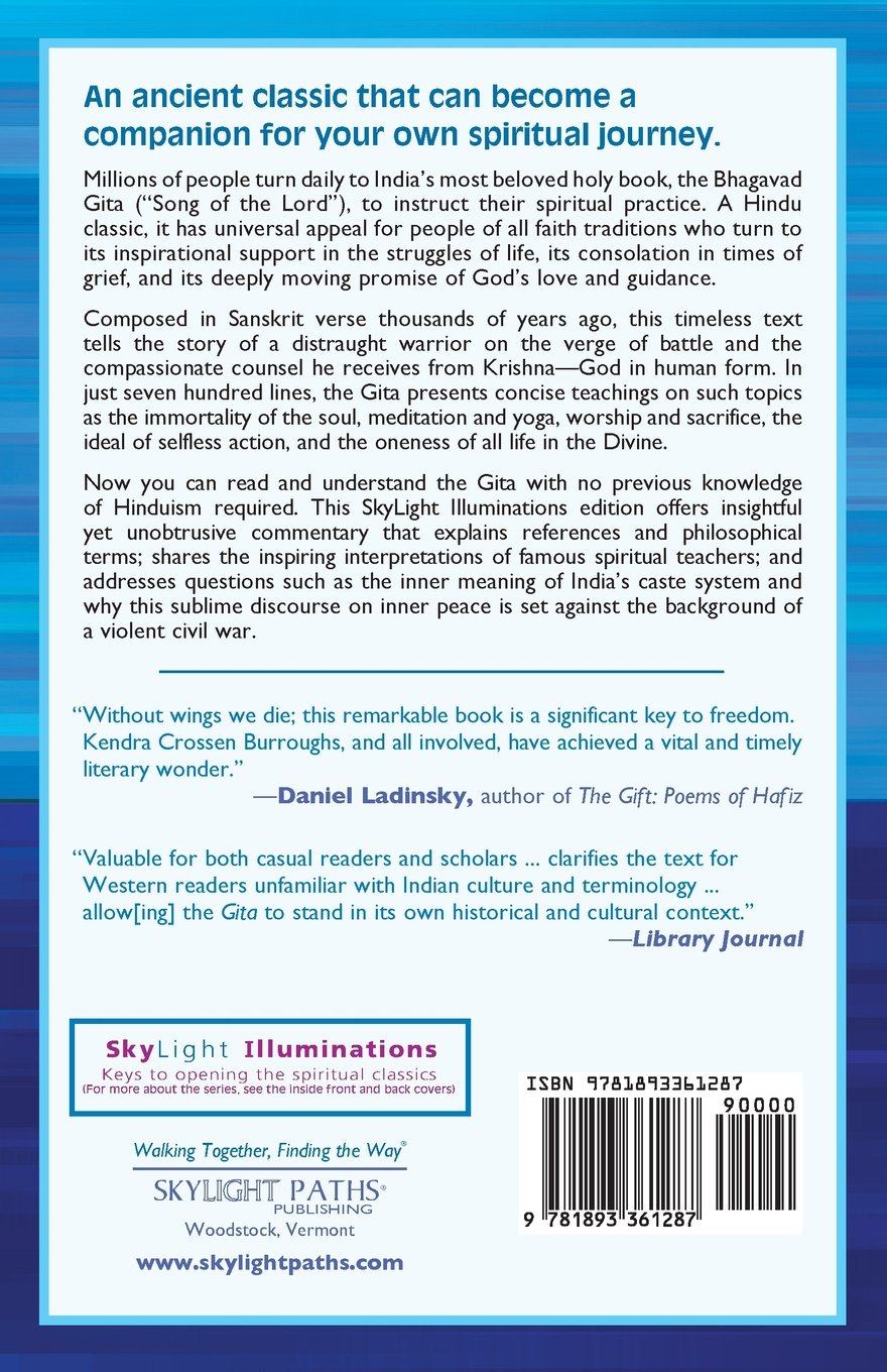 Bhagavad gita annotated explained skylight illuminations bhagavad gita annotated explained skylight illuminations kendra crossen burroughs shri purohit swami andrew harvey 9781893361287 amazon books fandeluxe Image collections