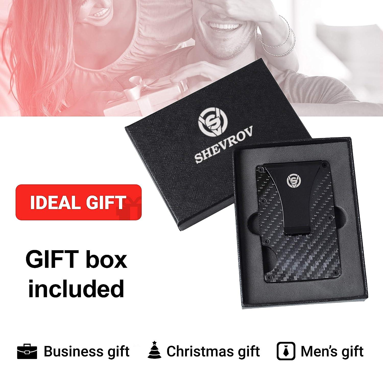 Amazon.com: Cartera con clip de fibra de carbono, cartera de ...