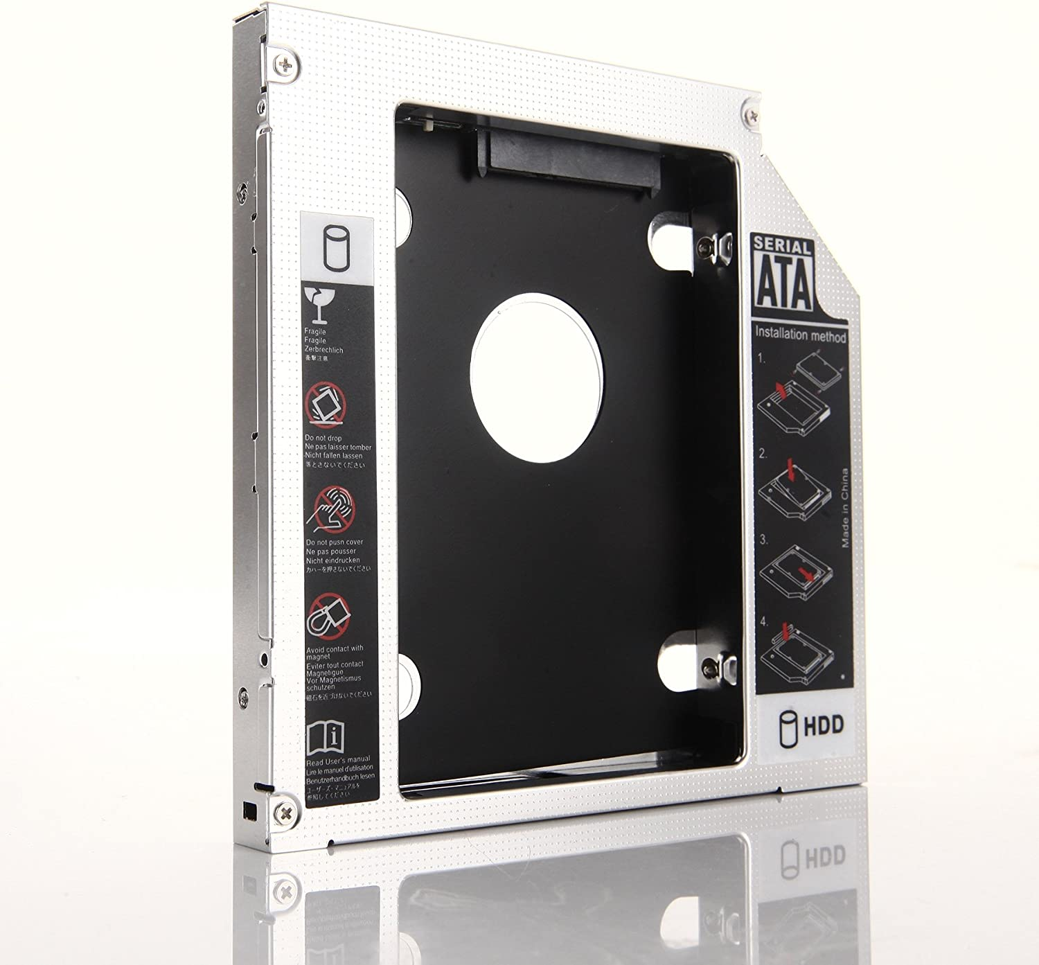 DY-tech Second 2nd Hard Drive HDD SSD Caddy Adapter Bay For Acer Aspire 6530 6930 6930G