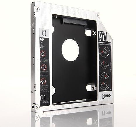 dy-tech 2 nd disco duro HD disco duro SSD Caddy para Lenovo ...