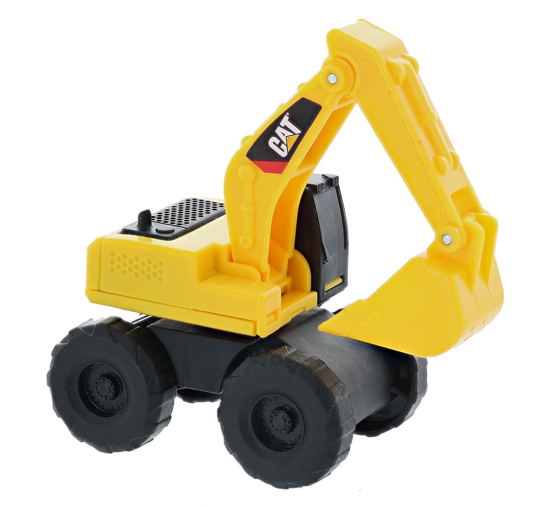 Road Rippers CAT Mini Machine Free-Wheeling Construction Playtime Truck Kit 5 Pack: 1 x Dump Truck, 1 x Wheel Loader, 1 x Excavator, 1 x Bulldozer, 1 x Backhoe
