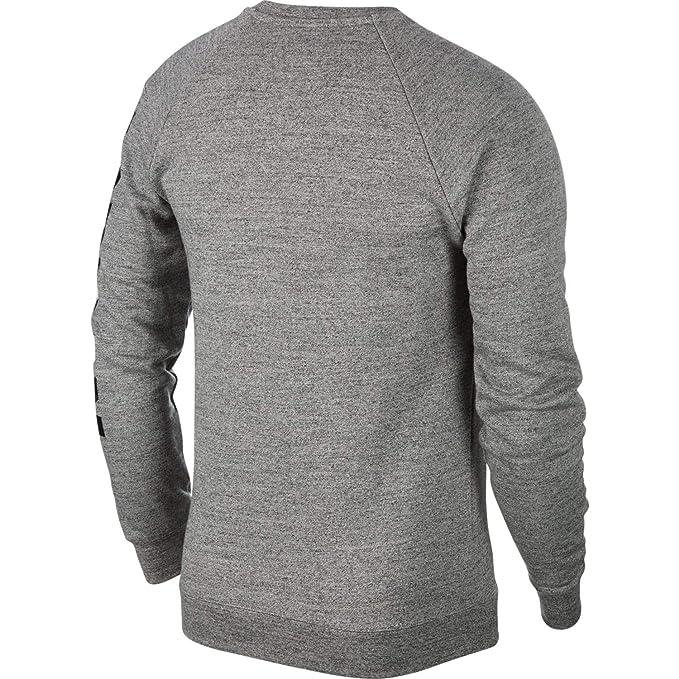 2d949afe Jordan Nike Mens Air Retro 11 Fleece Crew Sweatshirt at Amazon Men's  Clothing store: