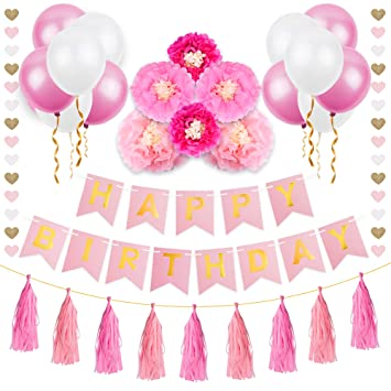 Geburtstag Deko Mozooson Party Deko Geburtstag Girlande Fur Kinder
