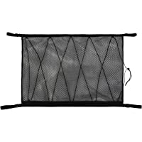 Pexmmy SUV Ceiling Cargo Net PocketCar Net Ceiling Storage Netting Pocket Double Layer High Elastic Simple Breathable…