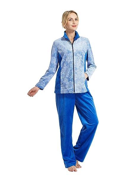 Raikou - Pijama - para Mujer Azul Extra-Large