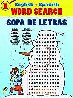 English-Spanish Word Search Sopa De Letras #1