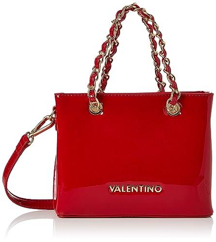 5cd8e439e2a Valentino by Mario Valentino Womens VBS1GJ05V Icon Tote Red (ROSSO ...