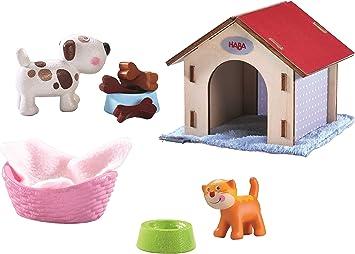 Haba Little Friends Set Katze Kiki und Hund Lucky: