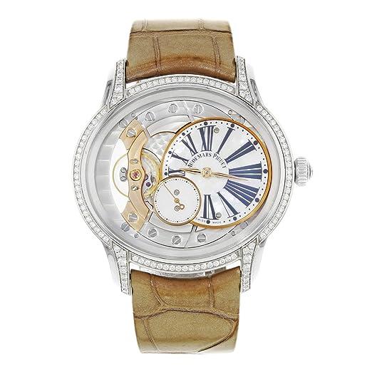 Audemars Piguet millenary Lady Oro Blanco 77247bc. ZZ. a813cr. 01: Audemars Piguet: Amazon.es: Relojes