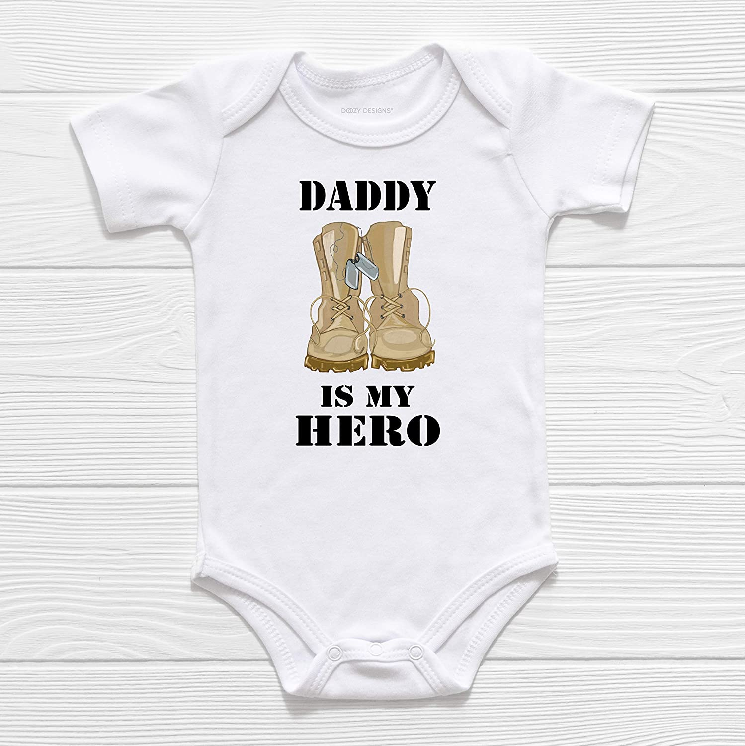 I Get My Good Looks From My Daddy Baby Vest Romper Babygrow Baby Shower Gifts