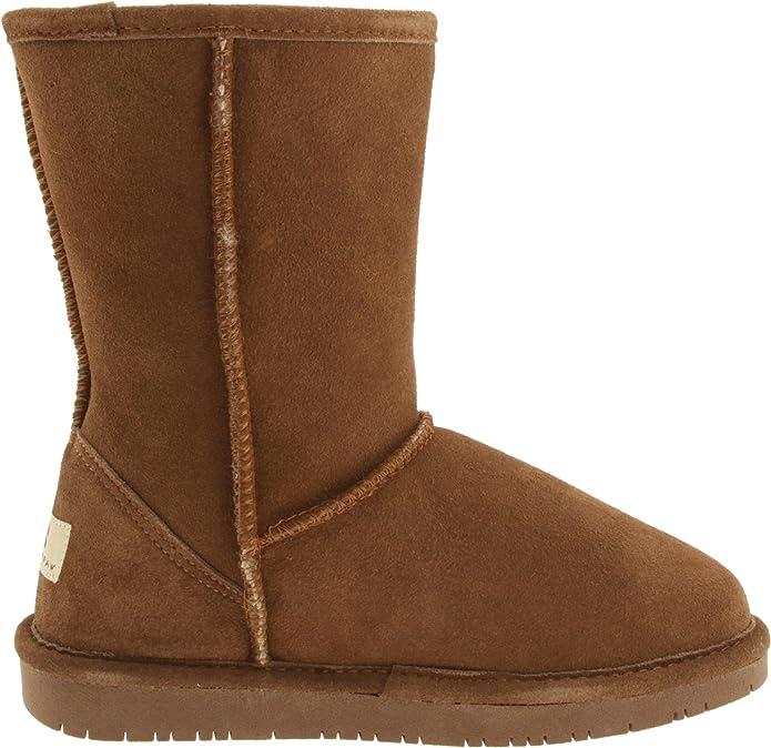 Bearpaw Emma Short, Botines para Mujer, Marrón (Braun/hickory), 43 EU: Amazon.es: Zapatos y complementos