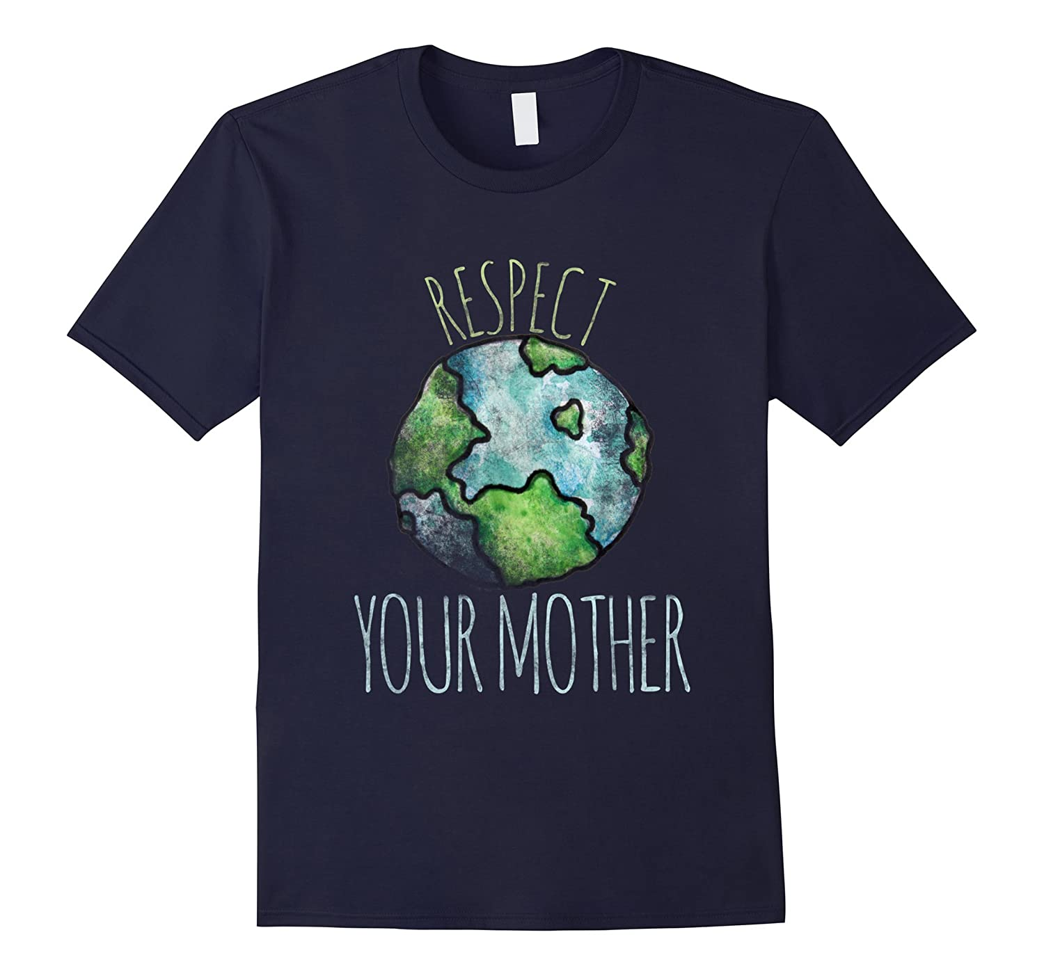 Respect your mother shirt earth day t-shirt vintage tees-TH