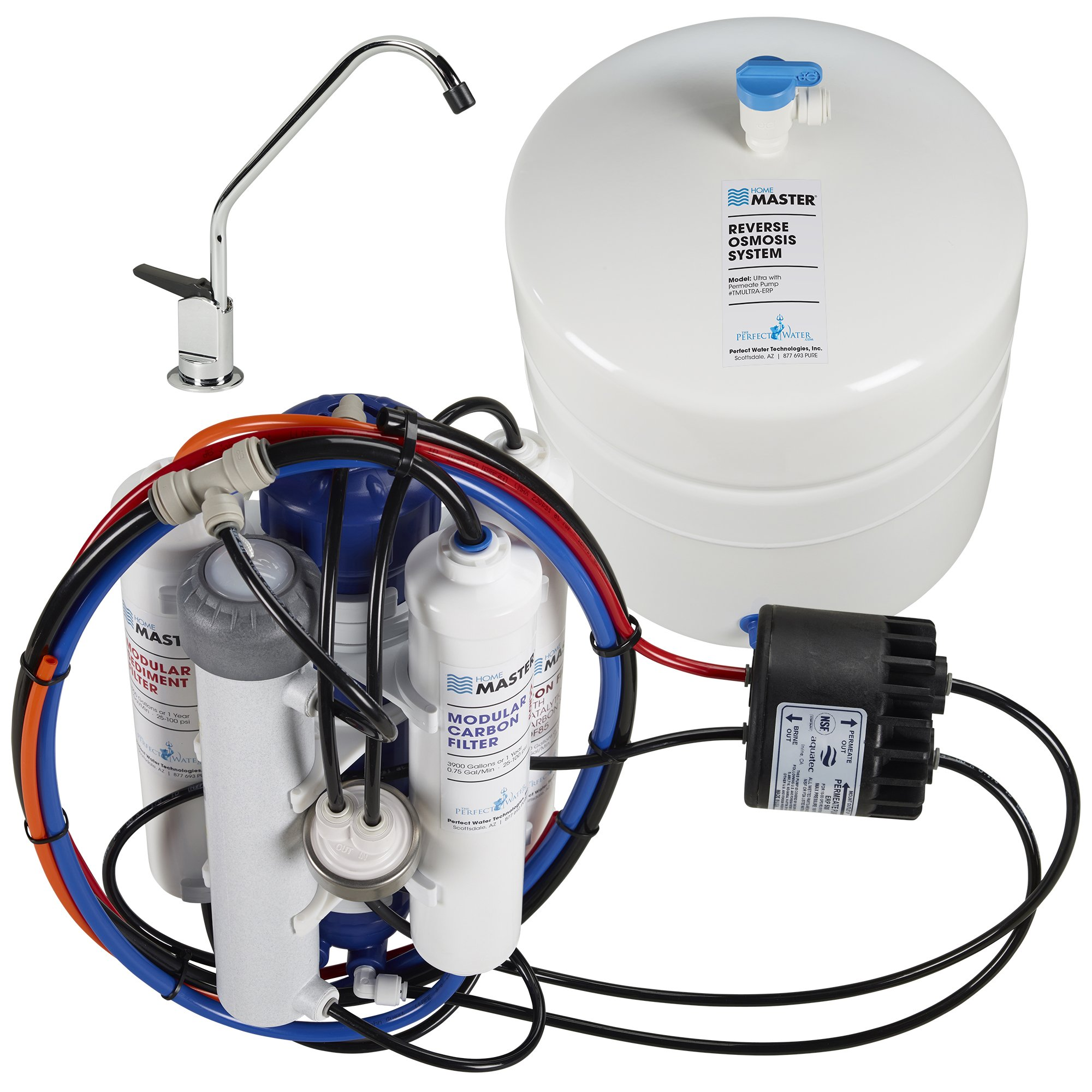 Home Master TMULTRA-ERP Ultra Undersink Reverse Osmosis Water Filter System by Home Master