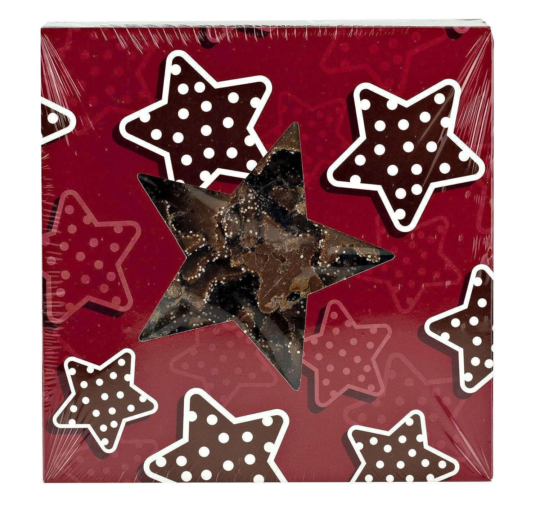 amazoncom christmas chocolate graham stars cookies 2 lb holiday gift box