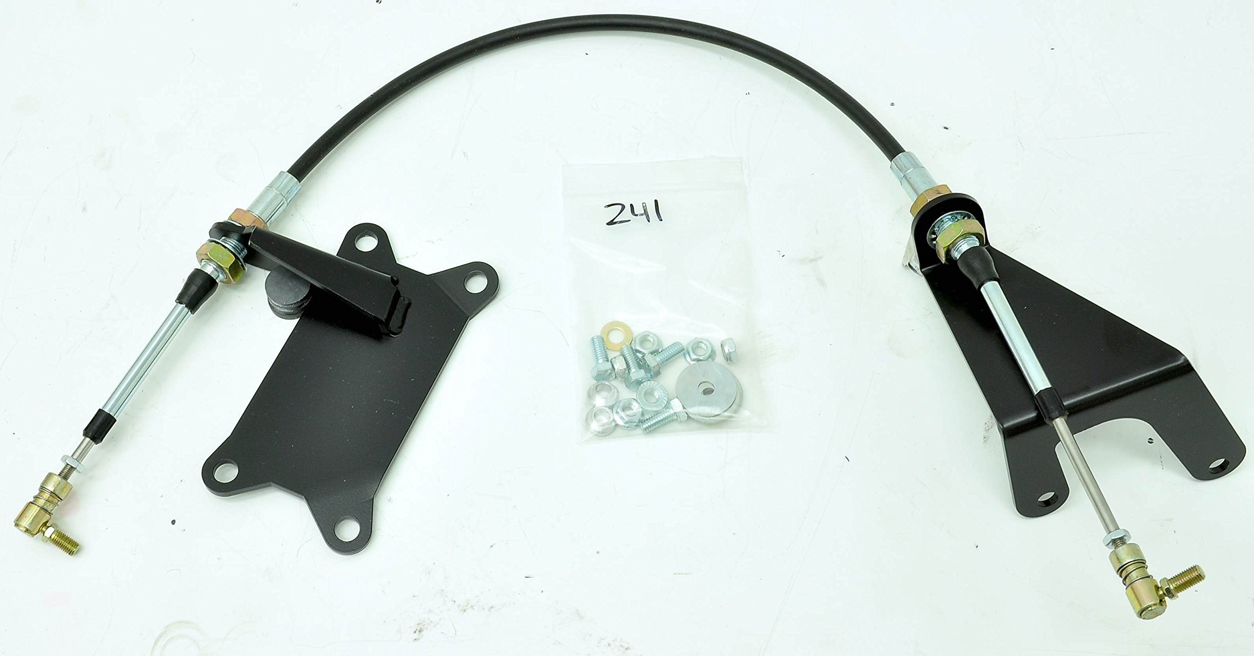 Jeep Wrangler 03-06 241 Cable Shifter Conversion RUBICON ONLY will not work with other models