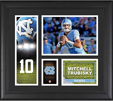 2b3cb185464 Image Unavailable. Image not available for. Color: Mitchell Trubisky North  Carolina Tar Heels ...