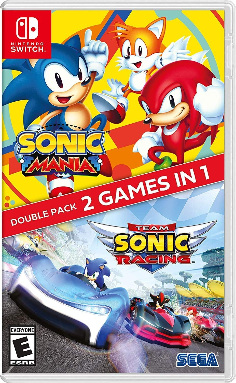 SEGA Sonic Mania + Team Sonic Racing Double Pack (Nintendo Switch) $24.99 Coupon