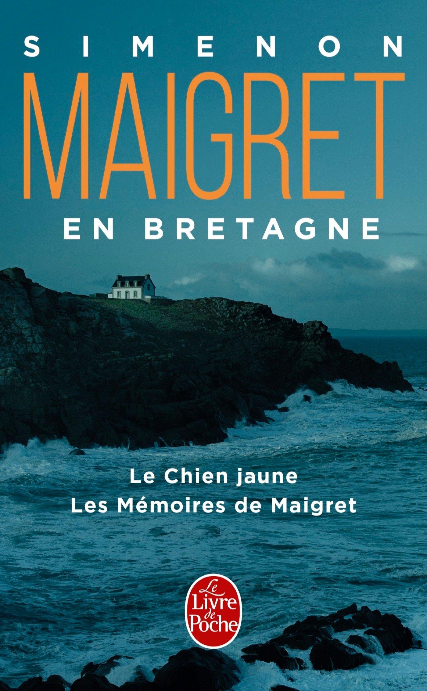 Maigret En Bretagne 2 Titres Policier Thriller French