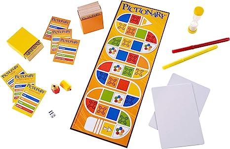 Mattel Pictionary - Juego de Tablero: Amazon.es: Juguetes y juegos