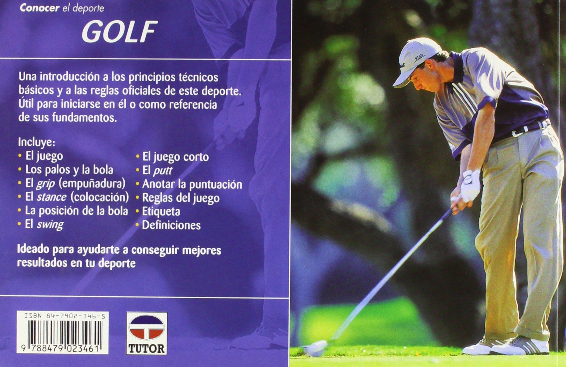Conocer El Deporte Golf: ASOCI.PROF.GOLF(0234: 9788479023461 ...
