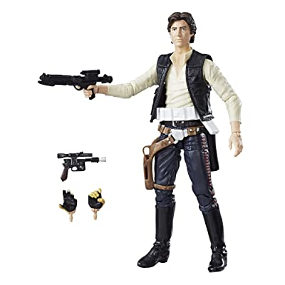 Star Wars The Black Series 40th Anniversary Han Solo 6 Inch Figure: Toys & Games