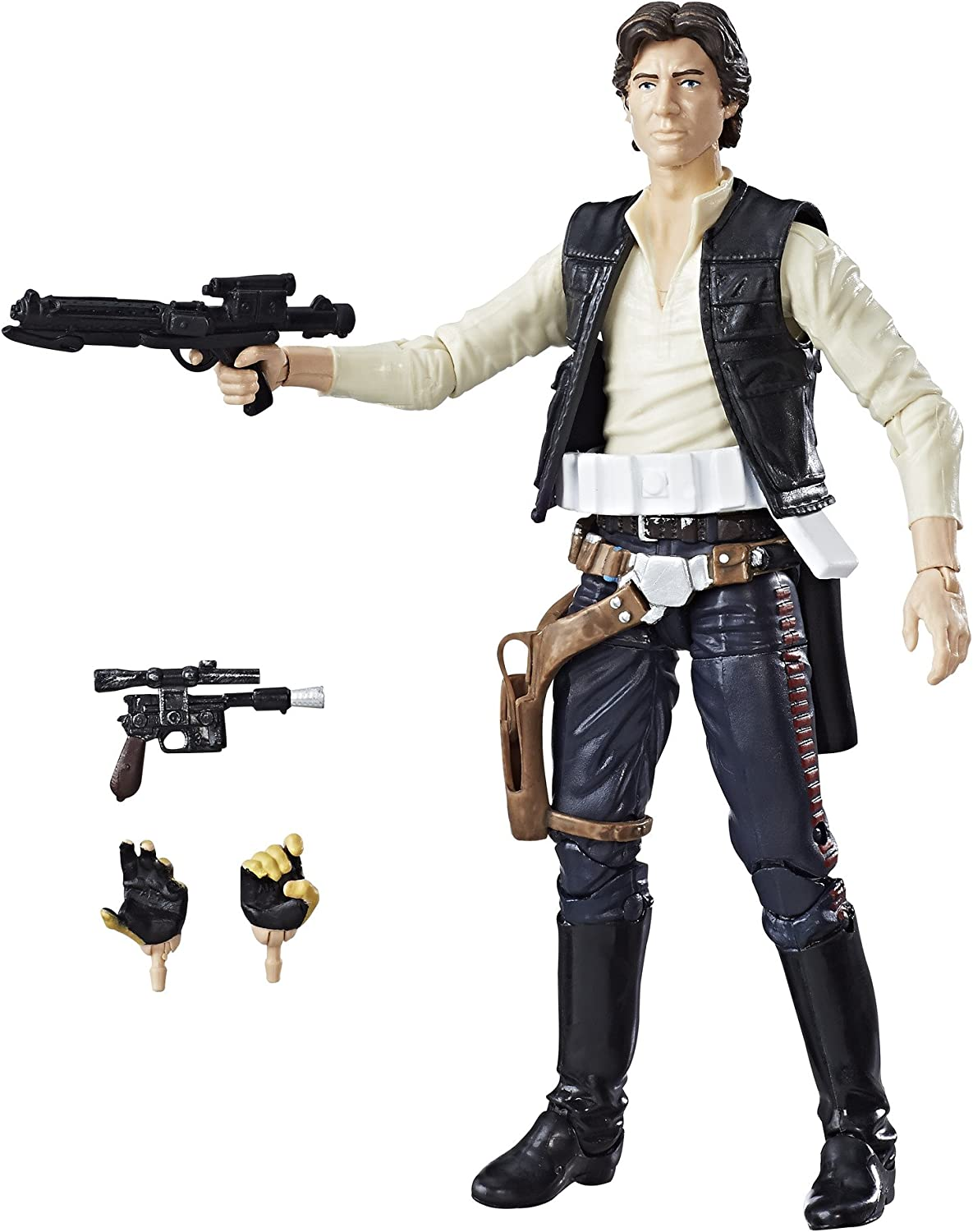 Star Wars The Black Series 40th Anniversary Han Solo 6 Inch Figure