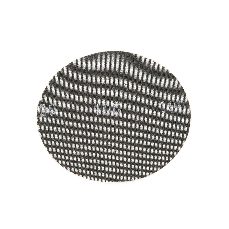 Ponceuse /à Sec et Ponceuse /à Disque Grille /à Poncer 225 Scratch Lot de 25 Unit/és Disques Abrasifs Grain 100 /Ø 225 mm Adapt/é pour Ponceuse de Plafond