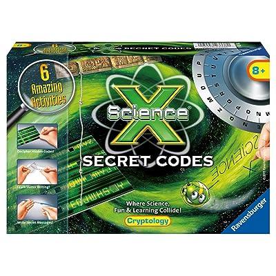 Ravensburger Science X Secret Codes Activity Kit: Toys & Games