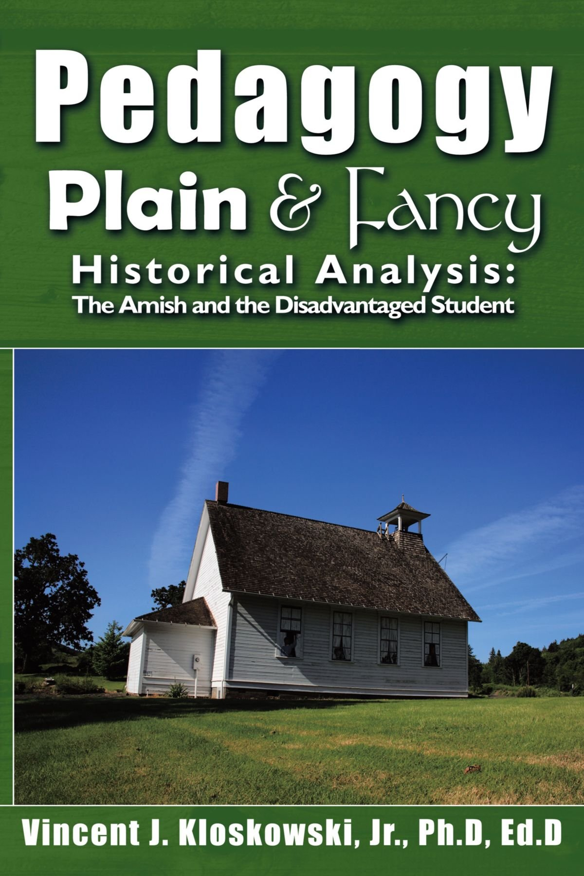Read Online Pedagogy Plain & Fancy: Historical Analysis: The Amish and the Disadvantaged Student pdf epub