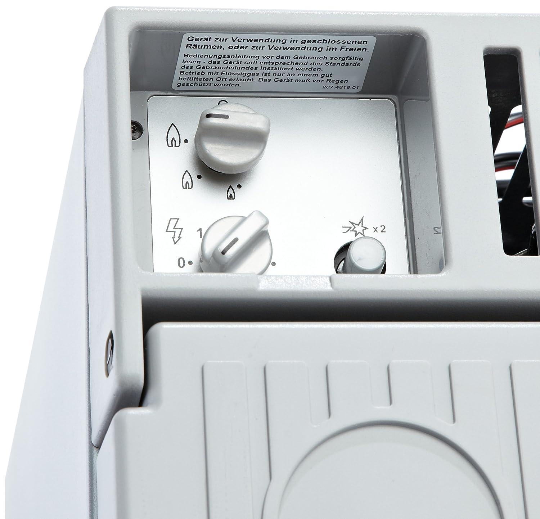 12 V und 230 V f/ür Auto Dometic CombiCool RC 1600 EGP elektrische Absorber-K/ühlbox mit Gas-Anschluss 50 mbar Lkw und Steckdose 31 Liter lautlose