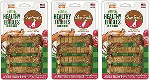 Nylabone Healthy Edibles Turkey and Apple Flavored Dog Treat Bones