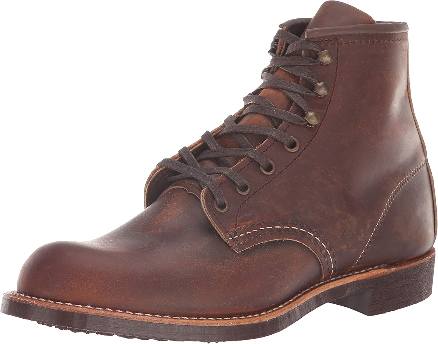 Men's Vintage Workwear Inspired Clothing Red Wing Heritage Mens Blacksmith Vibram Boot $289.95 AT vintagedancer.com