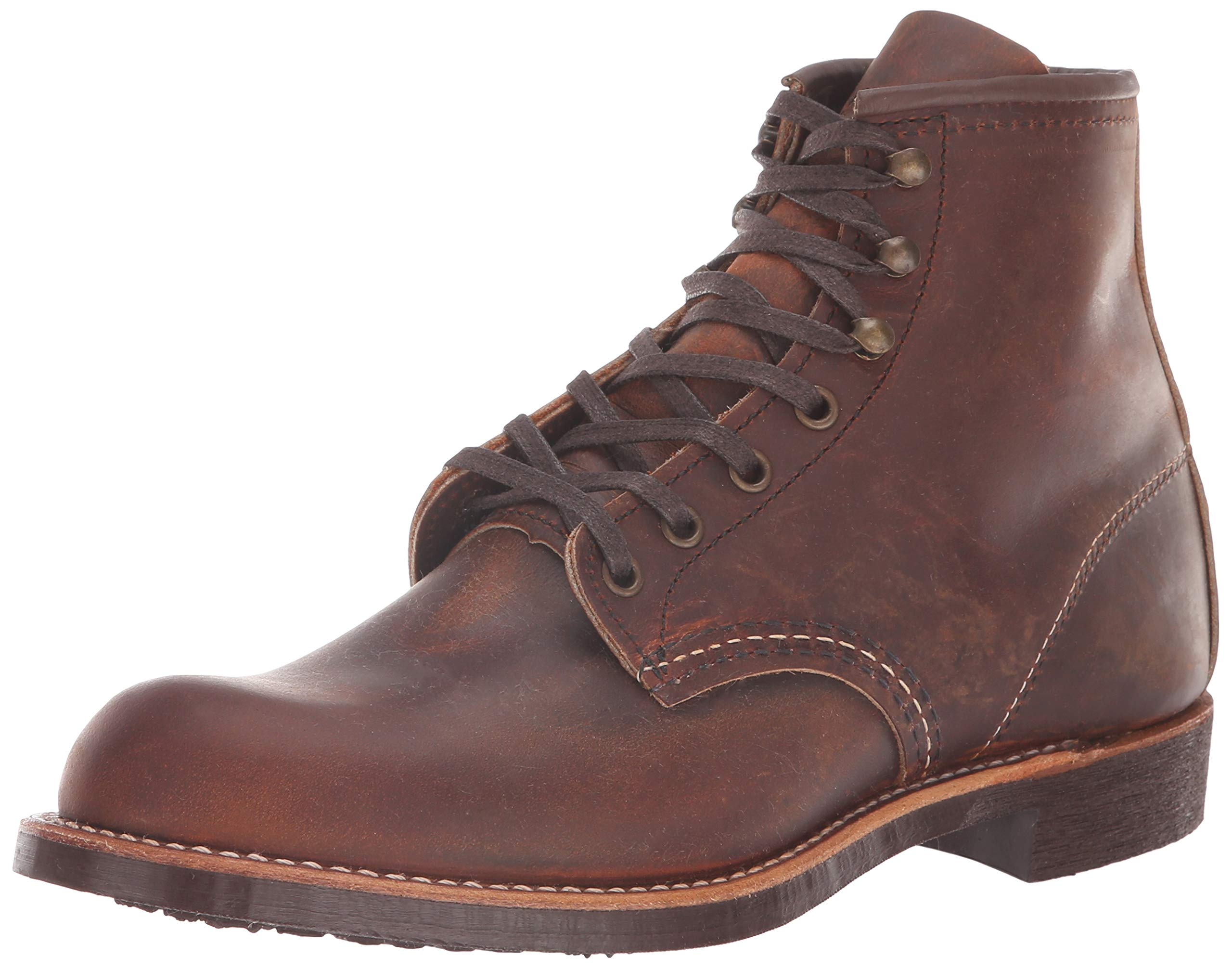 Red Wing Heritage Men's Blacksmith Work Boot, Copper Rough and Tough, 10.5 D US by Red Wing