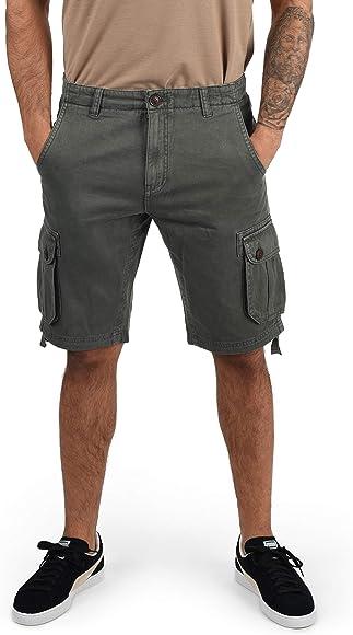 Solid Vizela - Pantalon Corto Cargo para Hombre, tamaño:S, Color ...