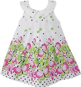 Para hacer vestidos de niña mariposa morada diseño de flores de ...