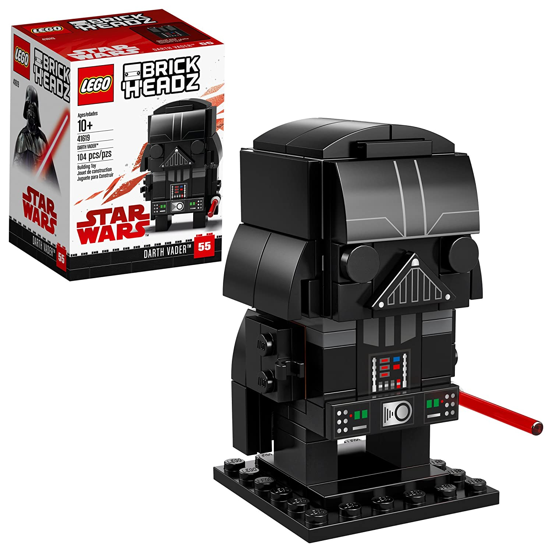 LEGO BrickHeadz Darth Vader Building Kit (104 Piece), Multicolor 6225364