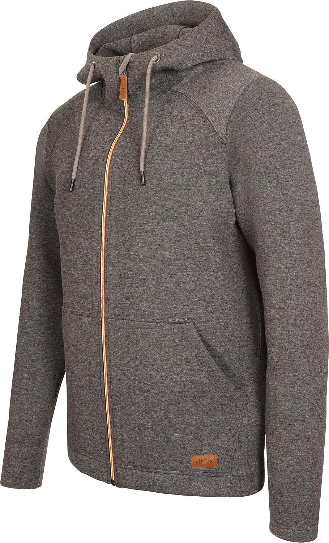Elkline Luftpirat Sweat Jacket Men Anthra 2019 Funktionsjacke
