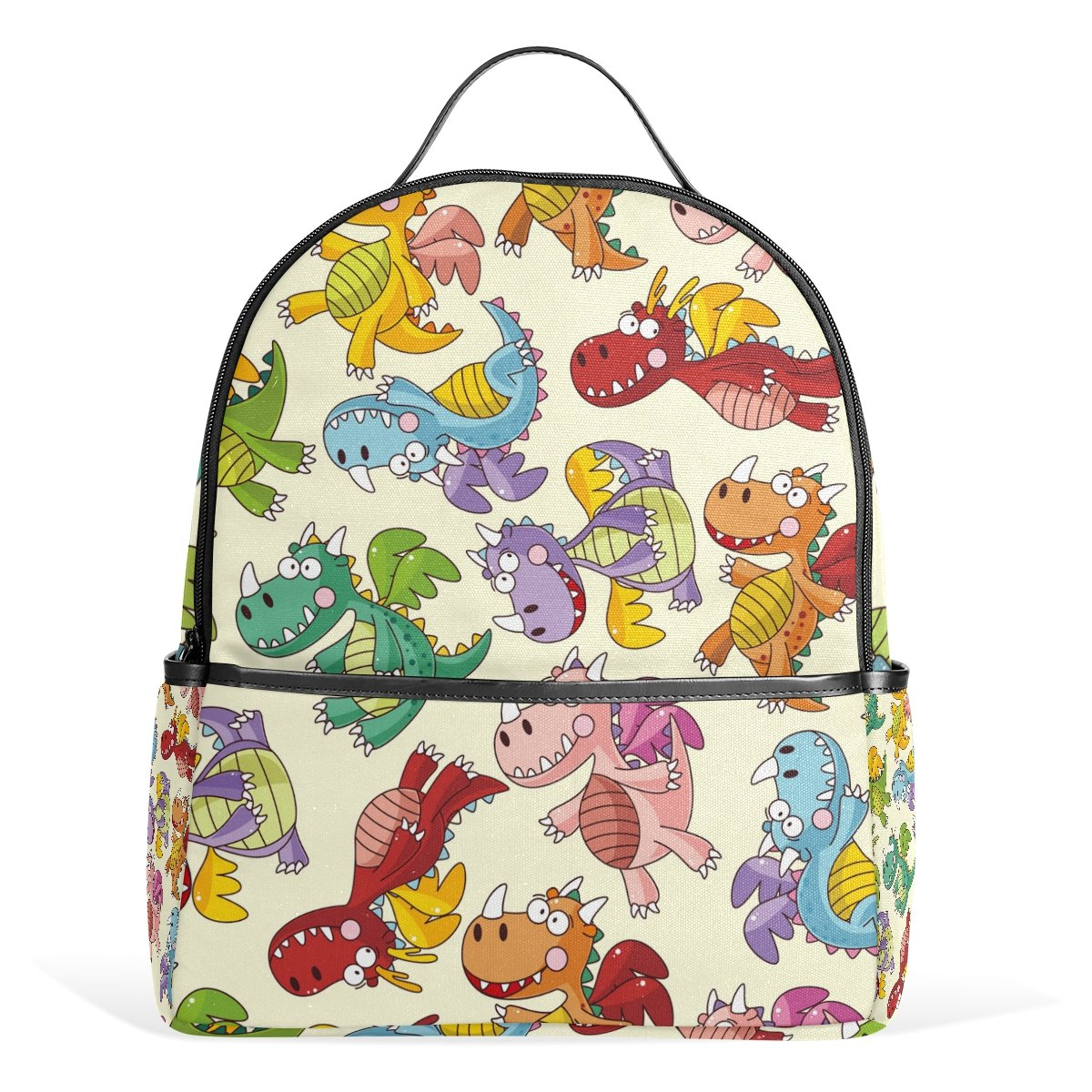 Amazon.com  Sunlome Cartoon Fire Dragon Pattern Laptop Backpack Casual  Shoulder Daypack for Student School Bag Handbag - Lightweight  Clothing 50869fc0e0667