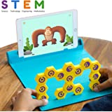 Shifu Plugo Link - Construction Kit with Puzzles, Augmented Reality Stem Toy | Fun Magnetic Building Blocks | Educational Engineering, Ages 5 - 10 Year Old Boys & Girls (App Based), Multi