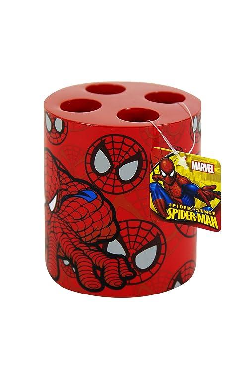 Spiderman de Marvel sentido Soporte para cepillo de dientes