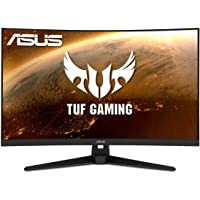 """ASUS TUF Gaming 32"""" 1080P Curved Monitor (VG328H1B) - Full HD, 165Hz (Supports 144Hz), 1ms, Extreme Low Motion Blur…"""